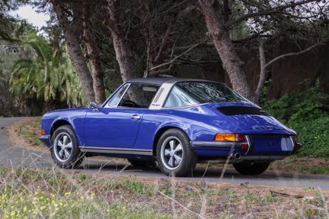 1973 Porsche 911 Targa for sale Oxford Blue